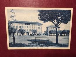 Cartolina Castellamonte - Piazza Umberto I - 1930 - Italia
