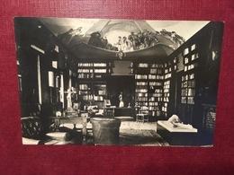 Cartolina Palermo - Piazza Barone Di Lo Monaco - Biblioteca - 1936 - Palermo