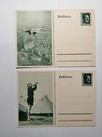 Deutsches Reich Postkarte Zum Reichsparteitag - Allemagne