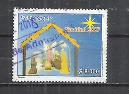 PARAGUAY 2007 - CHRISTMAS - POSTALLY USED OBLITERE GESTEMPELT USADO - Paraguay