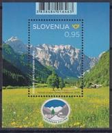 Slovenia 2019 Mint MNH **: Nature Protection; Tourism; Logarska Dolina Valey; Mountains; - Umweltschutz Und Klima
