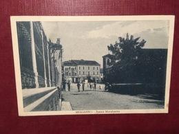 Cartolina Migliarino - Piazza Margherita - 1958 - Ferrara