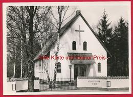 Foto-AK Wedel (Bez. Hamburg) 'Neuapolstolische Kirche' ~ Um 1960 - Wedel