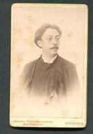 Fotografia Antiga De ESTUDANTE COIMBRA Amadeu Vasconcelos, Natural CINFAES / Viseu (DEPUTADO Da PONTE) 1899 - PORTUGAL - Ancianas (antes De 1900)