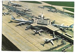 AEROPORT DE PARIS ORLY - Le Satellite Est De L'aérogare D'ORLY-SUD Avec Les Boeing 747 Air France - Aérodromes