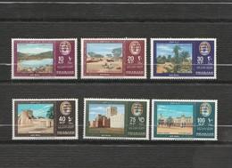 Sharjah - Lot 6 Timbres Emir Année 1965 Mi  AE  - KF 1 à 6 - Schardscha