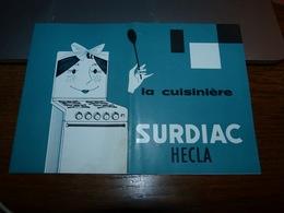 AA4-4 Folder 8 Pages 20x14cm  La Cuisinière Surdiac Hecla Usines De Bruxelles - Non Classés