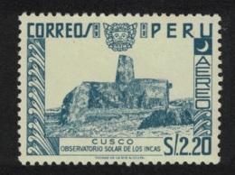 Peru Inca Astronomical Solar Observatory Cusco 1v $2.20 MNH SG#788 SC#C119 - Peru