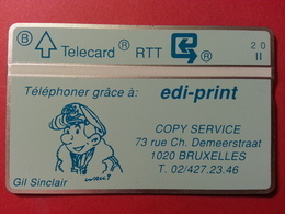 P13 Edi Print Comics Gil Sinclair Mint Neuve Tirage 1000 Ex Privée Edi-print 004G (B40417 - Belgique