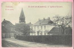 Thielen - De Kerk En De Pastorij - L' église Et La Cure - B. De Loose - 1909 - Kasterlee