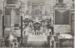 54 NANCY  Auto Oil  Carte Publicitaire Antoine La Selve  13 Rue Du Vieil Aitre CPA Voir Verso - Nancy