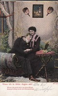 AK Wenn Ich In Deine Augen Seh' - Liebespaar - Lied Liedtext - Feldpost 1914 (46335) - Muziek En Musicus