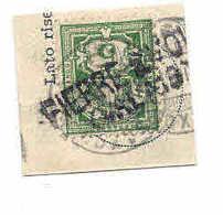 PIERRE A VOIR (VALAIS), VALAIS WALLIS SUISSE 1900, Cachet Linéaire Stabstempel, Sur Fragment, Briefstück - 1882-1906 Coat Of Arms, Standing Helvetia & UPU