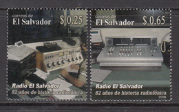 2008 El Salvador Radio Equipment Complete Set Of 2  MNH - El Salvador