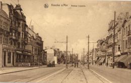 BELGIQUE - FLANDRE OCCIDENTALE - KNOCKE - Avenue Lippens. - Knokke