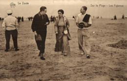 BELGIQUE - FLANDRE OCCIDENTALE - KNOCKE - Le ZOUTE - Sur La Plage - Les Pyjamas. - Knokke