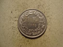 MONNAIE SUISSE 1 FRANC 1973 - Suisse