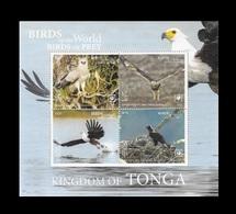 Tonga 2019 Mih. 2281/84 (Bl.131) Fauna. Birds Of Prey (II) MNH ** - Tonga (1970-...)