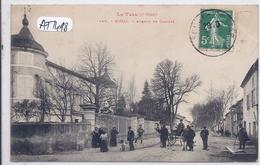 SOUAL- AVENUE DE CASTRES- LABOUCHE 148- 2 EME SERIE - Francia