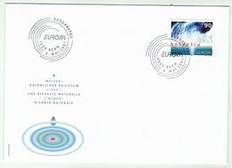 Suisse//Schweiz// Switzerland// 2001 FDC // Europa, L'eau / No.1022 - FDC