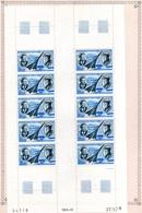 Poste Aérienne - Feuillet De 10 Neuf  Avec Coin Daté - 1970 - Jean Mermoz - Antoine De Saint-Exupéry - - Autres