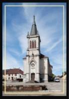 25  VILLERS  Sous  CHALAMONT  .... L'église - Otros Municipios