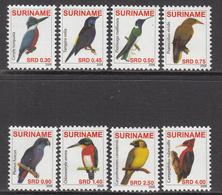 2008 Surinam Suriname Birds Oiseaux Complete Set Of 8  MNH - Suriname