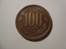 MONNAIE CHILI 100 PESOS 1984 - Chile
