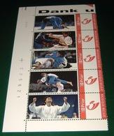 GELLA VANDECAVEYE / JUDO - Duostamp - Duostamps - Duozegels - RRRR!!! - Private Stamps
