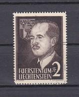 Liechtenstein 1955 Nr 294 Gestempeld, Zeer Mooi Lot Krt 4839 - Oblitérés