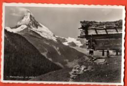 MYG-16 Cervin Et Vieux Mazot Valaisan, Raccard. Matterhorn Sur Zermatt. Non Circulé. Perrochet - VS Valais