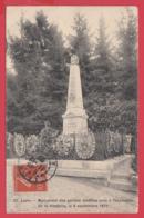 CPA-02-LAON -Monument Des Gardes Mobiles Tués Dans L'explosion De La Citadelle Le 9 Septembre 1870 * 2 SCAN- - Laon