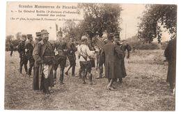 00 624 - MILITARIA - Grandes Manoeuvres De Picardie, Le Général Boëlle Donnant Des Ordres - Altri