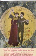 AK Lasst Den Kopf Nicht Hängen - Liebespaar - Lied Liedtext  - Hemme 1910 (46347) - Music And Musicians