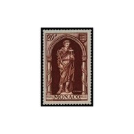 Timbre N° 360 Neuf ** - Année Sainte. Saint Romain (392-463). - Monaco