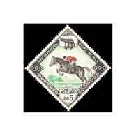 Timbre N° 532 Neuf ** - Jeux Olympiques De Squaw Valley Et De Rome. Hippisme. - Monaco