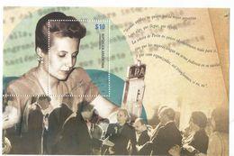 "2012 Argentina Eva Peron ""Evita"" Revolutionary Souvenir Sheet MNH - Ungebraucht"
