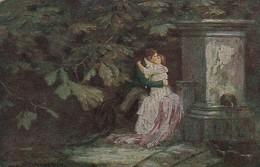 AK E. Schneider - Liebesrausch - Amag Kunst - Liebespaar - Ca. 1910 (46351) - Illustratori & Fotografie