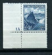 1936 Czechoslovakia Mi 354 ** MNH - (plate Number) - Ungebraucht