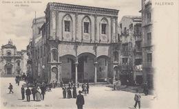 CARTOLINA - PALERMO - CHIESA E PIAZZA DI S.GIACOMO ALLA MARINA - Palermo