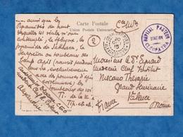 CPA - ALEXANDRIE - écrite Par Le Médecin Chef / Aide Major De L' Hôpital Pasteur - 1915 WW1 Cachet Corr. D'Armées Egypte - Guerre 1914-18