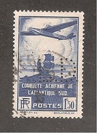 Perforé/perfin/lochung France  No 320 L.D. (41) - Perfins