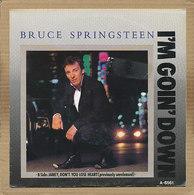 "7"" Single, Bruce Springsteen - I'm Goin' Down - Disco, Pop"