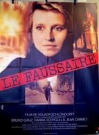Aff Ciné Orig LE FAUSSAIRE (1981/Schlondorff) Bruno Ganz Hanna Schygulla 120X160 - Affiches & Posters