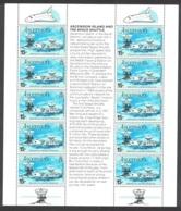 Ascension Space Shuttle Sheetlet Of 10v MNH SG#281 SC#273 - Ascension