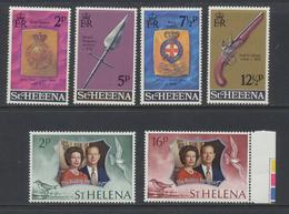 Sainte - Hélène - St Helena  1972 Année Complète  *** MNH - Sainte-Hélène