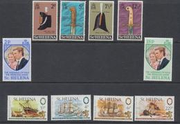 Sainte - Hélène - St Helena  1973 Année Complète  *** MNH - Sainte-Hélène