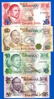 Bolswana  4  Billets - Botswana