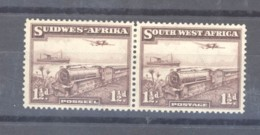 Sud-ouest Africain  :  Yv  138-39  *   Se Tenant - Zuidwest-Afrika (1923-1990)