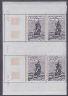 TAAF P.A. N° 88 XX Histoire Polaire En Bloc De 4 Coin Daté Du 28 . 5 . 84 . à 60 % De La Faciale, Ss Ch, TB - Unused Stamps